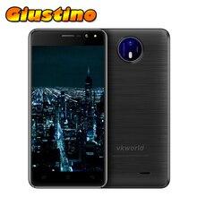 """Оригинал Vkworld F2 Android 6.0 2 ГБ RAM 16 ГБ MT6580A ROM Quad Core 5.0 """"1280*720 IPS 8MP 2200 мАч Смарт Жест 3 Г Смартфон"""