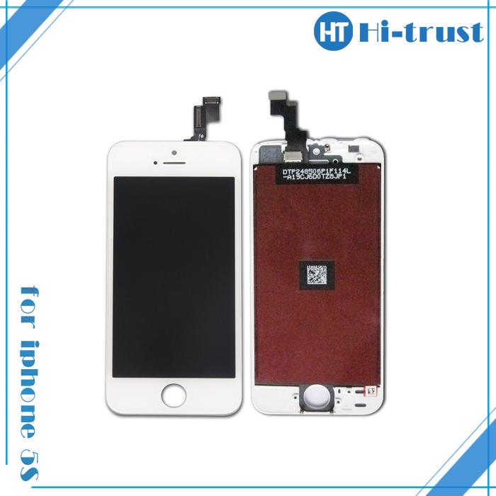 Prix pour 10 PCS/LOT PAS de Dead Pixel Haute Qualité Écran lcd Pour iPhone 5S avec Écran Tactile Digitizer Assemblée Remplacement