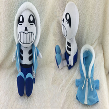 Hot Sale New Color Blue 30cm/12″ Undertale Plush Sans Papyrus Toys Animation Plush Dolls For Kids Christmas Gift Free Shipping