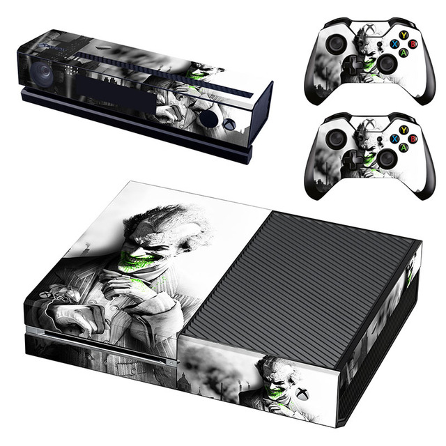 Joker Cover Decals Skin For Microsoft Xbox One Kinect And Console And 2  Controllers Vinyl Game