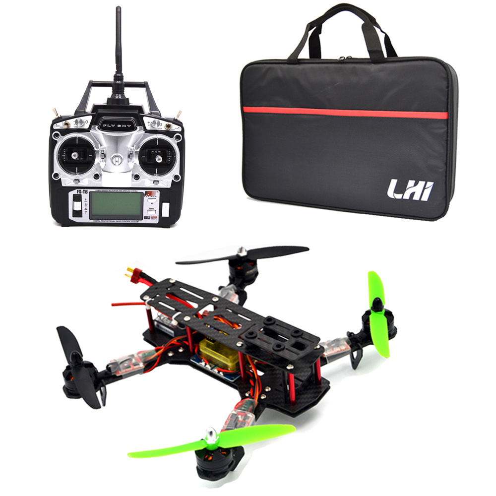 все цены на 250 Quadcopter Full Carbon Fiber Frame Kit RTF Quadcopter with Remote Controller онлайн