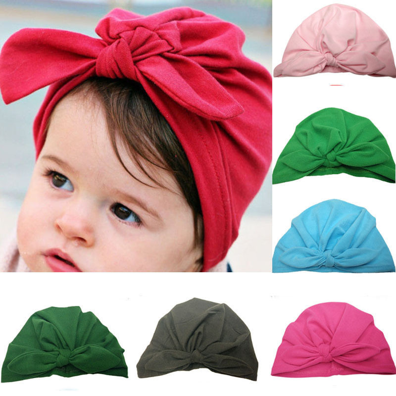 cdf977e806c Newborn Baby Toddler Hospital Cap Infant Comfy Bowknot Soft Cotton Beanie  Hat Kids Accessories Winter Baby. Αριθμός μοντέλου. Βρεφικό καπελάκι