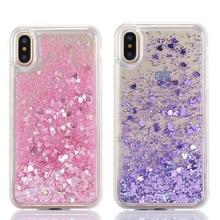 Dynamic liquid Glitter Quicksand case For Samsung J3 J5 J7 2015 2016 2017 J3 J4 J8 2018 J2 J7 Prime Clear Soft TPU Cover Coque