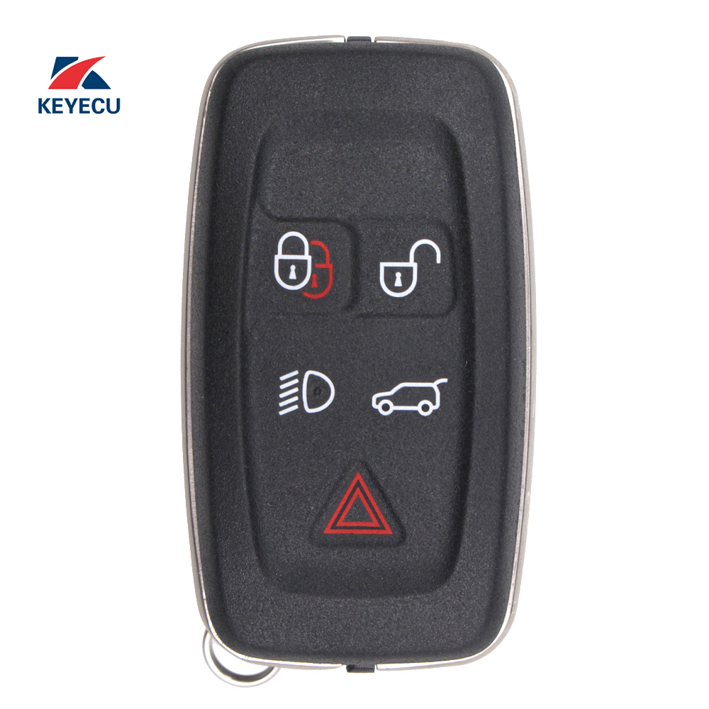 KEYECU Replacement Smart Remote Car Key Fob 5 Button for Land Rover LR4 Range Rover Evoque