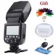 Godox Ving V860II V860II-S E-TTL HSS 1/8000 Li-Ion Akku Speedlite Flash für Sony DSLR A7R A7RII A58 A99 A6000 DSLR kamera