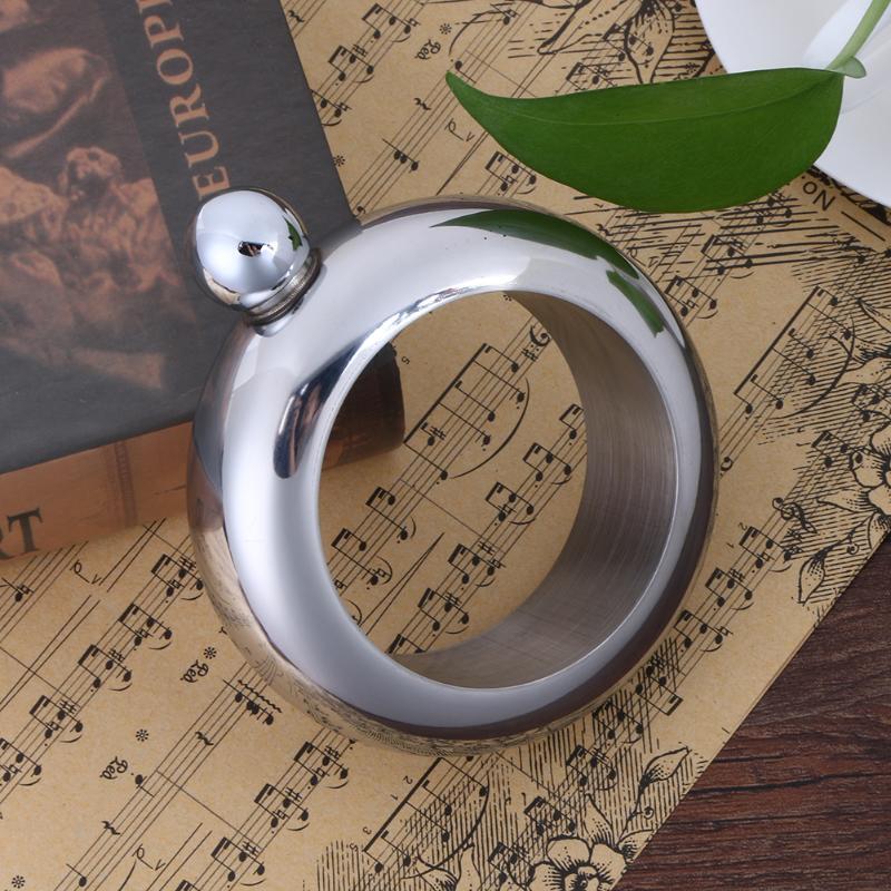 Portable Bangle Bracelet Hip Flask Okrugli Elegantan Vinski Bracelet - Kuhinja, blagovaonica i bar - Foto 3