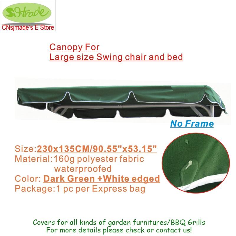 Tetőfedő nagyméretű hintaszékhez és ágyhoz, cserélhető - Kerti termékek