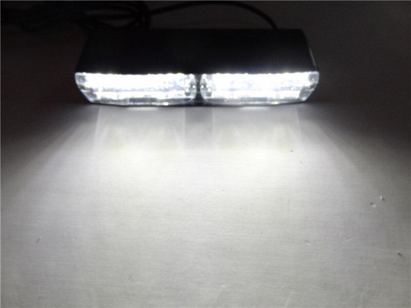 16 LED VermelhoAzulAmarelo 12 v Car Polícia