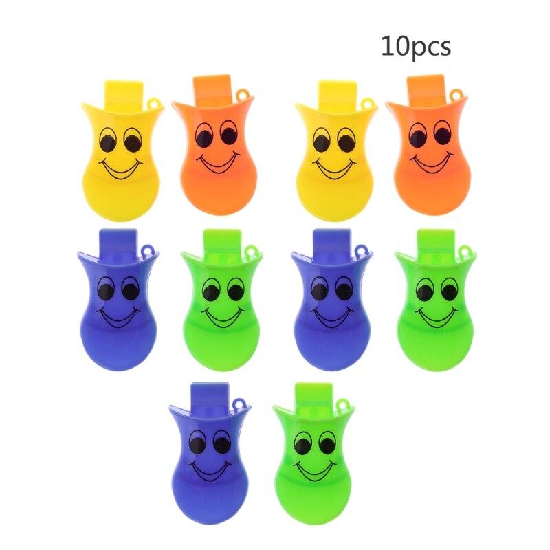 10 Stücke Kunststoff Ente Quacker Pfeifen Party Bevorzugung Tasche Füllstoff Kinder Kinder Spielzeug