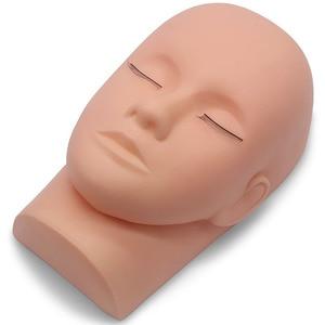 Image 4 - Kimcci 가짜 속눈썹 연장 훈련 키트 운동 연습 마네킹 헤드 세트 접목 속눈썹 도구 키트 눈 속눈썹 접목