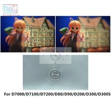 シングル180度のスプリットイメージフォーカスフォーカシングスクリーンニコンD7000 D7100 D7200 D80 D90 D200 D300 D300S PR152