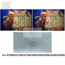 אחת 180 תואר פיצול תמונה פוקוס התמקדות מסך עבור ניקון D7000 D7100 D7200 D80 D90 D200 D300 D300S PR152