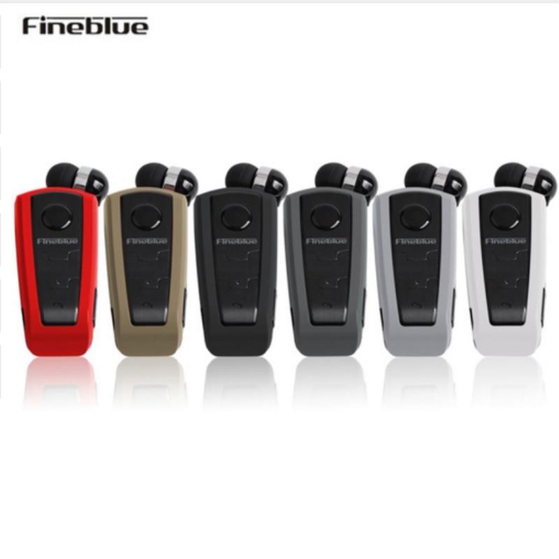 Fineblue F910 Wireless Bluetooth Clip Telescopic Type Business Earphone Vibration Wear Clip Stereo Sport Handsfree Earphone