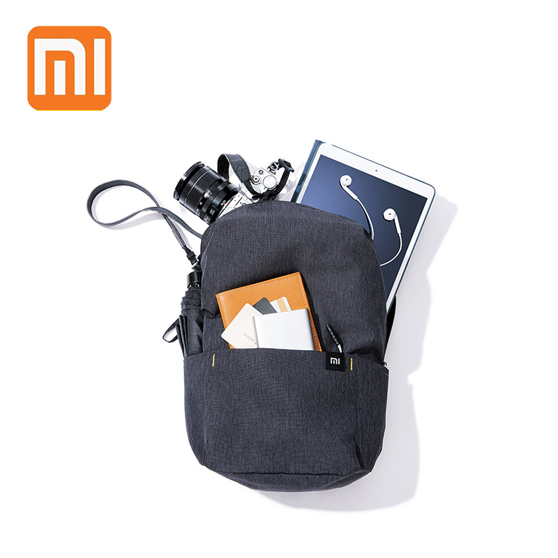 XIAOMI Backpack 10L Mini Bag 8 Colors For Women Men Boy Girl Daypack Waterproof Lightweight Portable Chest Sling Bags For Travel(China)