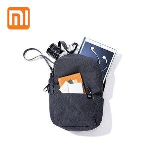 XIAOMI ظهره 10L البسيطة حقيبة 8 ألوان للنساء الرجال صبي فتاة Daypack حقيبة للماء خفيفة الوزن المحمولة الصدر حقائب بحمالات للسفر