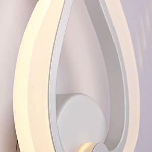 Image 5 - LED Light Modern Wall Lamp Acrylic Sconce 10W AC90 260V Indoor Bathroom Bedroom Living Room Hallway Art Decoration