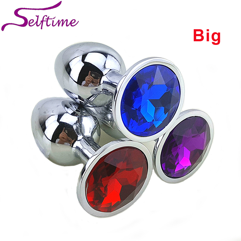 Medium Metal Anal Sex Toys For Woman Man Stainless Steel Enticing Jewelry Butt Plug Large Ass Beads Products Asm