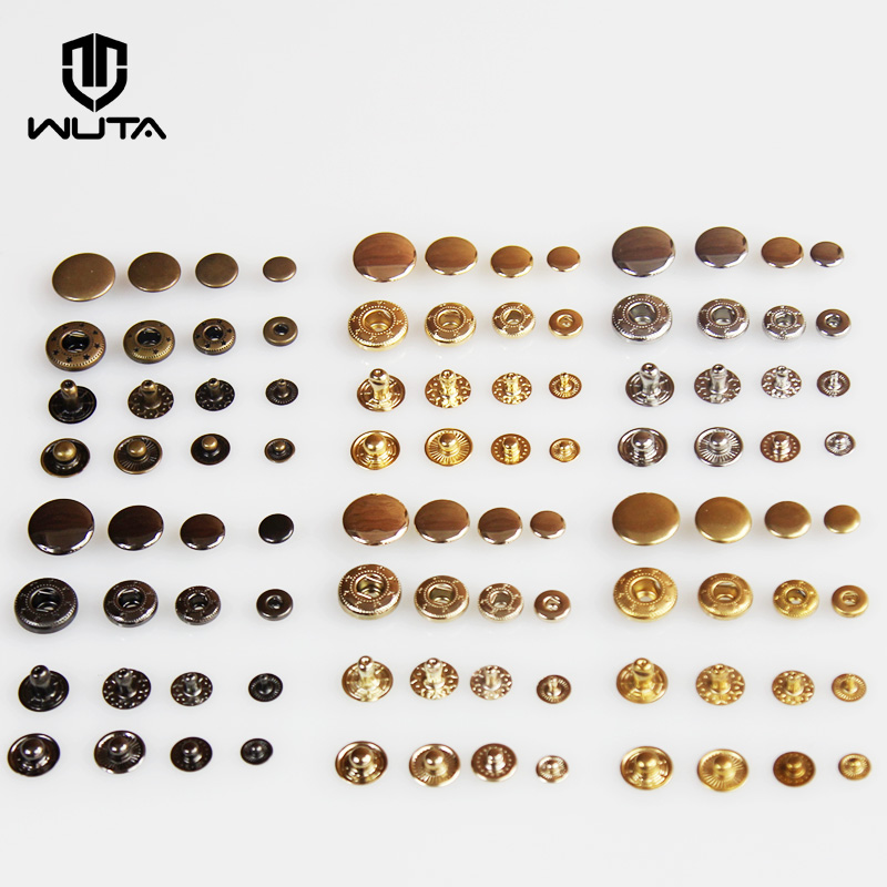 Line 16 Segma STYLE Snaps in ALL BLACK BRASS 100 pieces per component