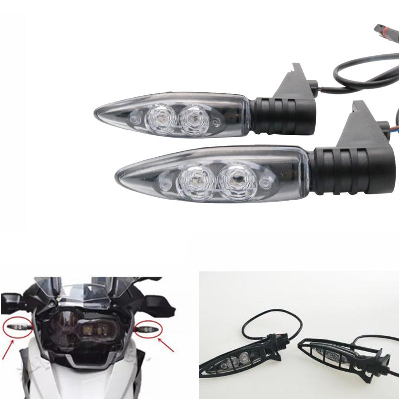 For BMW Motorcycle Led Turn Signal Lights Front Indicators For BMW R1200 GS R 1200 GS ADVENTURE K1300 R R800GS F 800 R F800 R [english version] xiaomi huami amazfit bip bit pace lite youth mi fit ip68 waterproof glonass smart watch gps english language