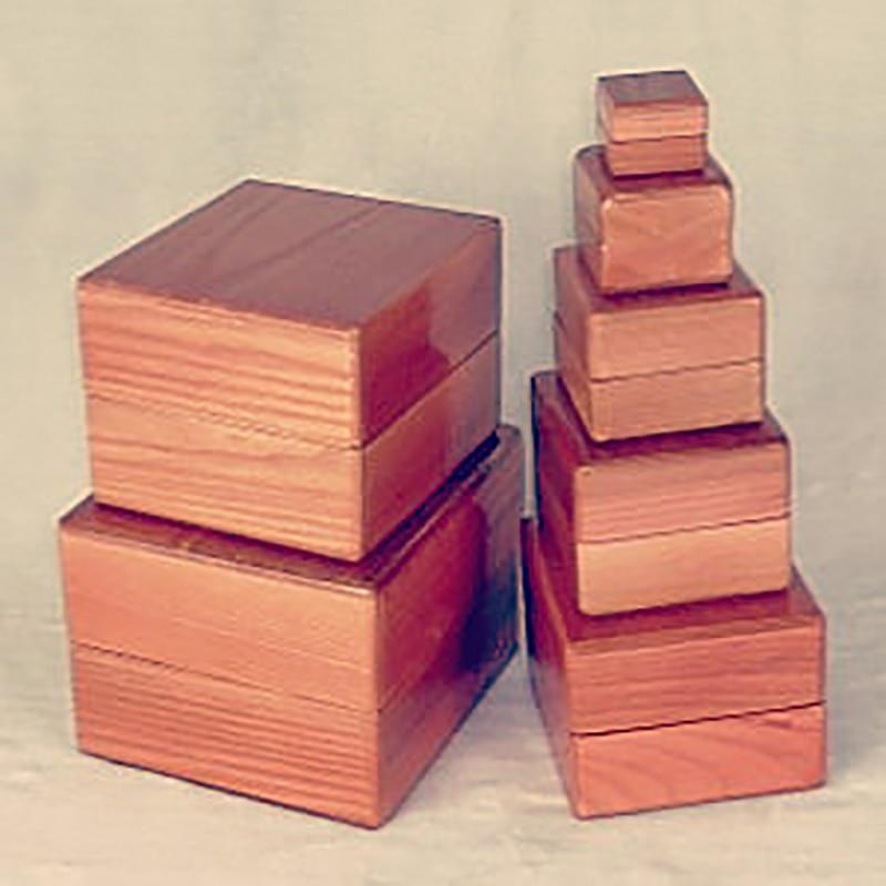 Nid de boîtes boîtes en bois tours de magie accessoires de magie