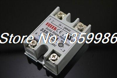 10pcs Solid State Relay SSR-60 AA AC-AC 60A/250V 80-250VAC/24-380VAC original 3 phase ac solid state relay ssr 15a 80 250vac normally open electronic switch
