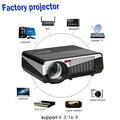Poner saund proyector 5500 lumens led proyector de la ayuda 1080 p home cinema pk televisión tv set