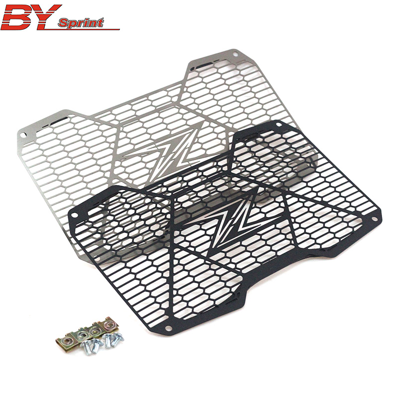 High Quality Motorcycle Accessories For Kawasaki Z650 Z 650 2017 2018 CNC Radiator Guard Protection Water