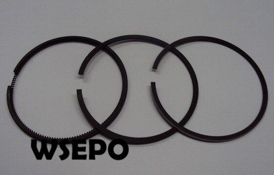¡Calidad Chongqing! Juego de anillos de pistón para motor diésel refrigerado por aire 168F 3.5HP Horizontal 196CC 4 tiempos