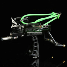 Slingshot Hunting Powerful Catapult Stainless Steel Hunter Aluminium Alloy Outdoor Hunting Camping