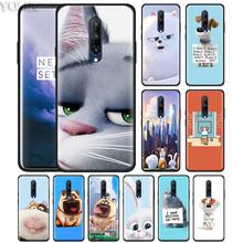 The Secret Life of Pets Phone Case for Oneplus 7 7Pro 6 6T Oneplus 7 Pro 6T Black Silicone Soft Case Cover