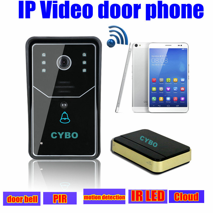 Wireless 3G Wifi IP Video Door Phone Intercom Doorbell door Camera security system Wireless unlock Android iOS APP motion detect 2016 new wifi doorbell video door phone support 3g 4g ios android for ipad smart phone tablet control wireless door intercom