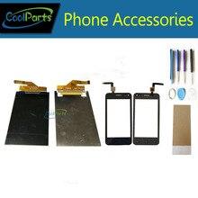 Купить онлайн 1 шт./лот Высокое качество для Micromax A79 ЖК-дисплей Экран дисплея + Сенсорный экран планшета с инструмент и Клейкие ленты заменяемой