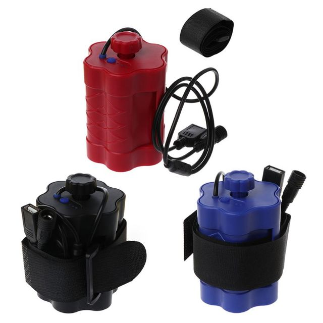 DIY Powerbank Box 6x 18650 Battery Storage Case Holder 5V 12V For Bicycle LED Light USB Charger for Smartphone