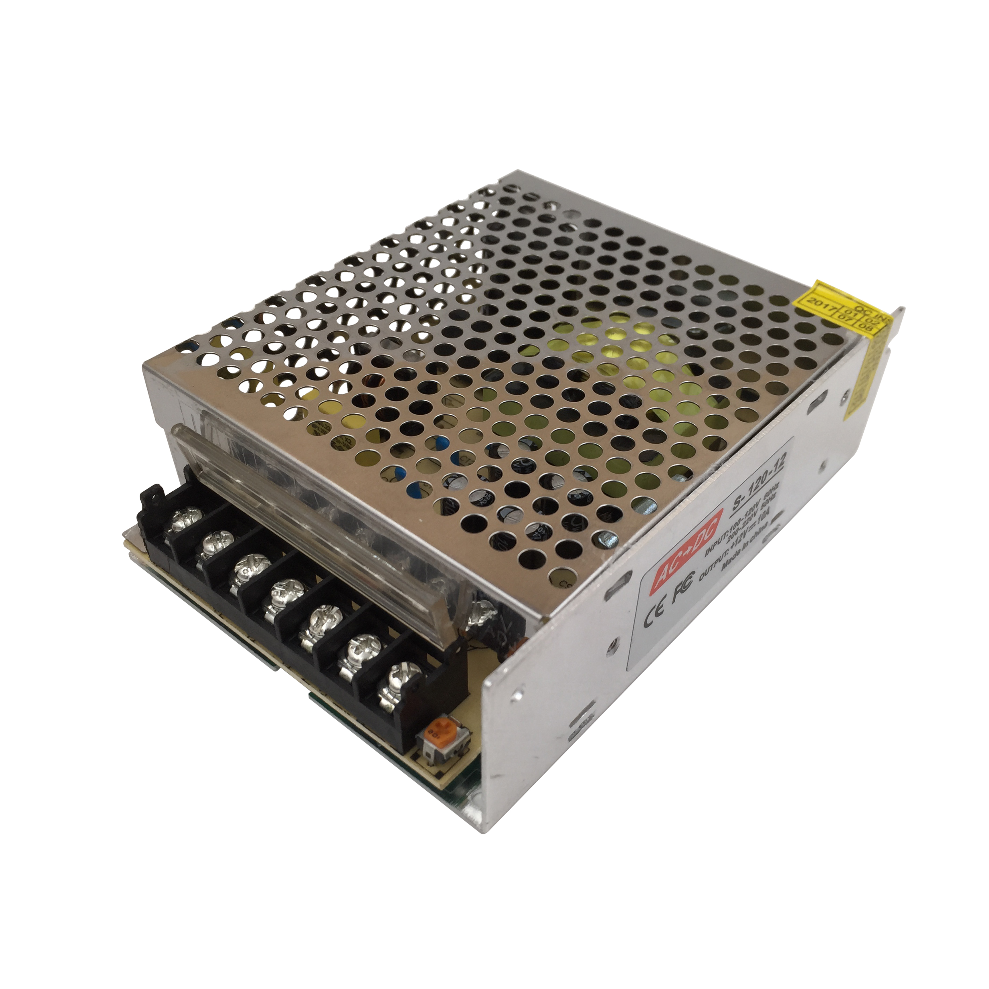 Lighting Transformers DC 12V output 10A AC to Switching Power Supply 220V 110V 120W PWM LED Driver Adapter for Strip