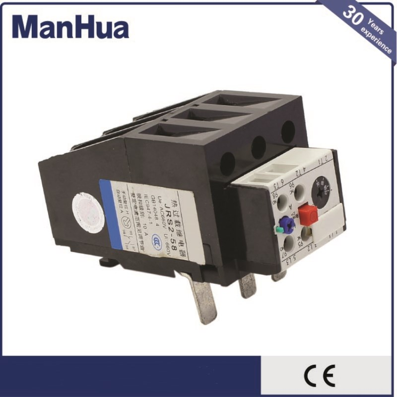 Manhua High Quality Product JRS2-58 3UA Innovative Series Thermal overload relay for motor protection and Trip level 10A renfert mt 3 ua купить