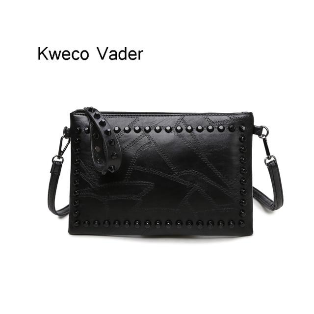 High Quality Pu Leather Designer Messenger Bag Womens Handbags 2017 New Fashion Women Bags Black