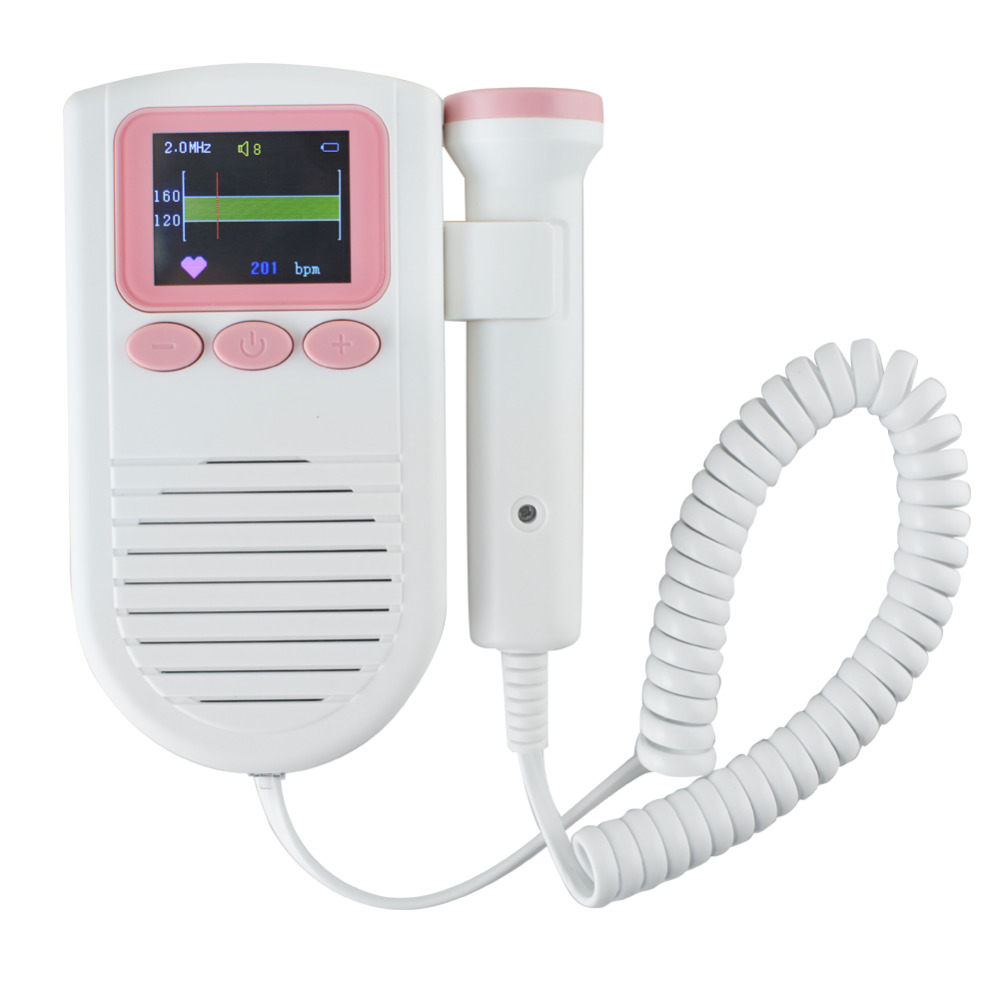 2017  Best Sale Ultrasound Prenatal Fetal Detector 3MHz Probe LCD Pocket Prenatal Heart Baby Sound Monitor футболка prenatal футболка