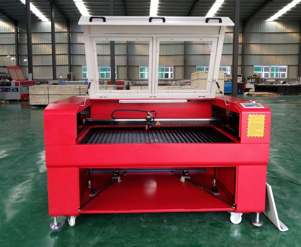 High Performance Reci Laser Tube Cnc Laser Fabric Cutting Machines CO2 Laser Cutter