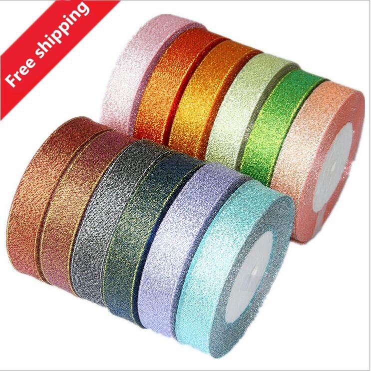 Högkvalitativ 24 Yard Roll 20mm Garn Färgglatt Ribbon Edge - Konst, hantverk och sömnad