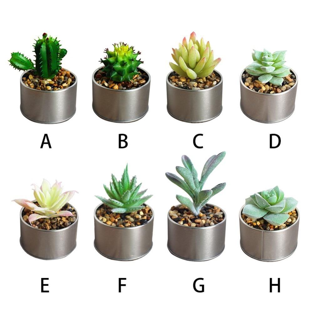 Innovative Ornament Mini Artificial Plants Home U0026 Kitchen Home U0026 Living Art  Decor Car Accessories PVC Garden Plant In Artificial Plants From Home U0026  Garden ...