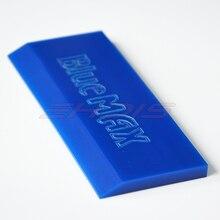 1PC Car Window Glass Squeegee Strips Vinyl Film Car sticker wrapping BLUEMAX Scraper Strip Rubber Squeegee Spare Blade