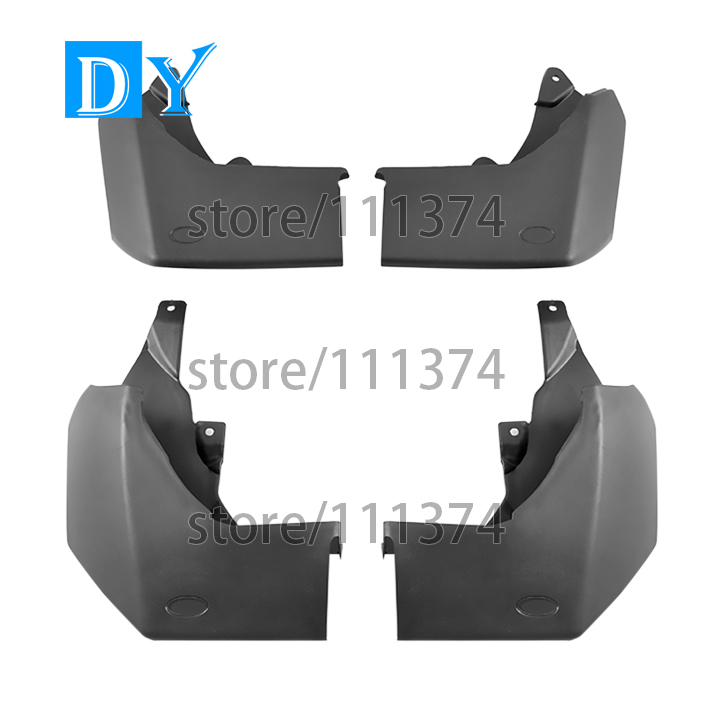Mud Flaps Splash Guards Cover Fender Mudguards For Land Rover Discovery 4 2009 2010 2011 2012 2013 2014 2015