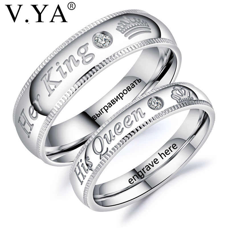 Custom Wedding Rings For Her