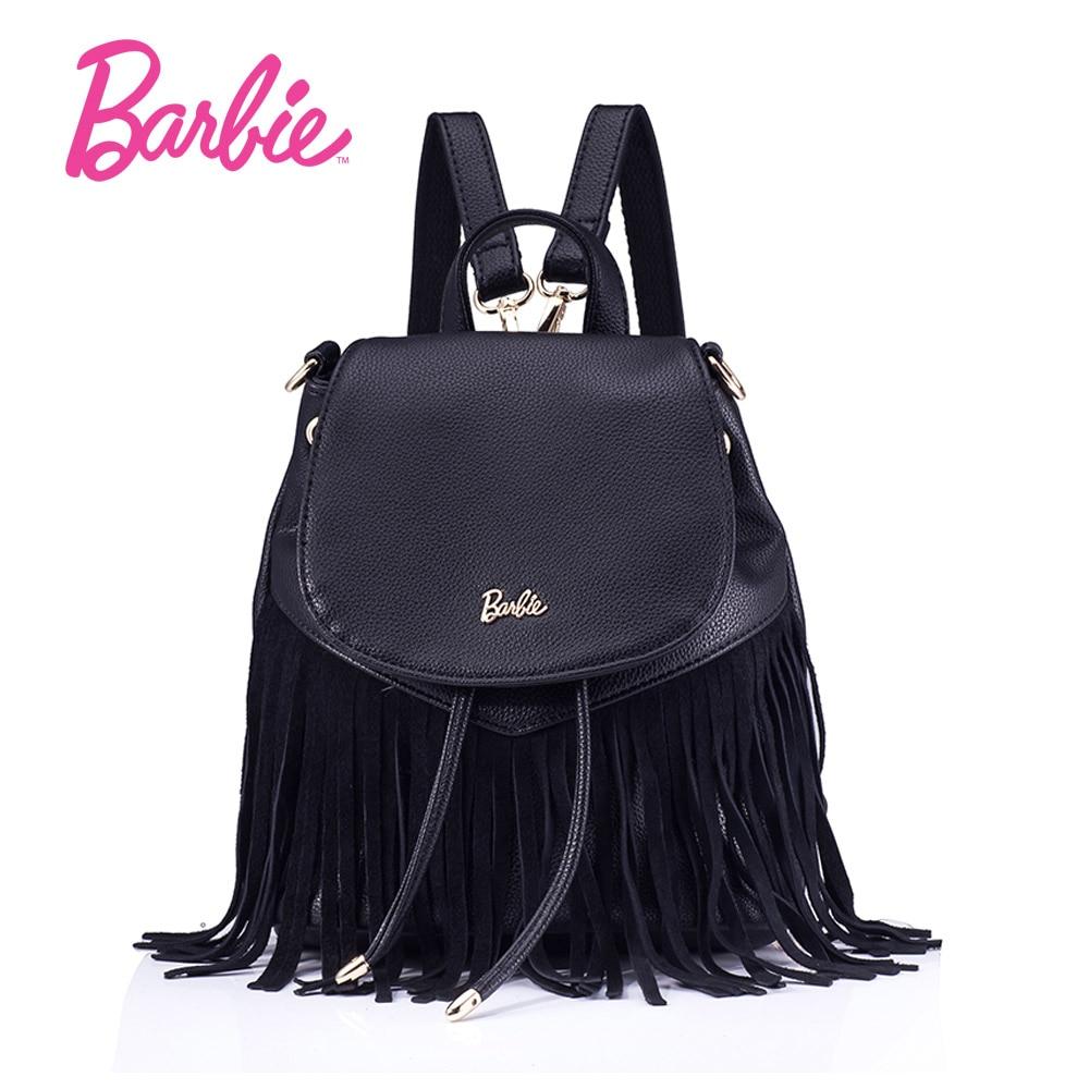 2019 Barbie femmes sacs nouveau été gland filles sac à dos sacs petit mode sac tendance bref sac à bandoulière pour dame cevmrf