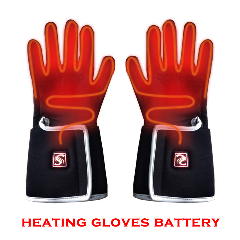 NEW heating Gloves Battery for Man woman winter hot thick gloves Touch screen gloves ski camping climbing gloves black new mens leather waterproof screen gloves mittens for male winter windproof ski super driving warm proctive gloves