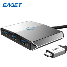 Eaget 3-в-1 USB HUB разветвитель USB 3.0 с Тип c Мощность доставки HD SD/TF Картридер USB-C USB c концентратор для Macbook Тип-C концентратора