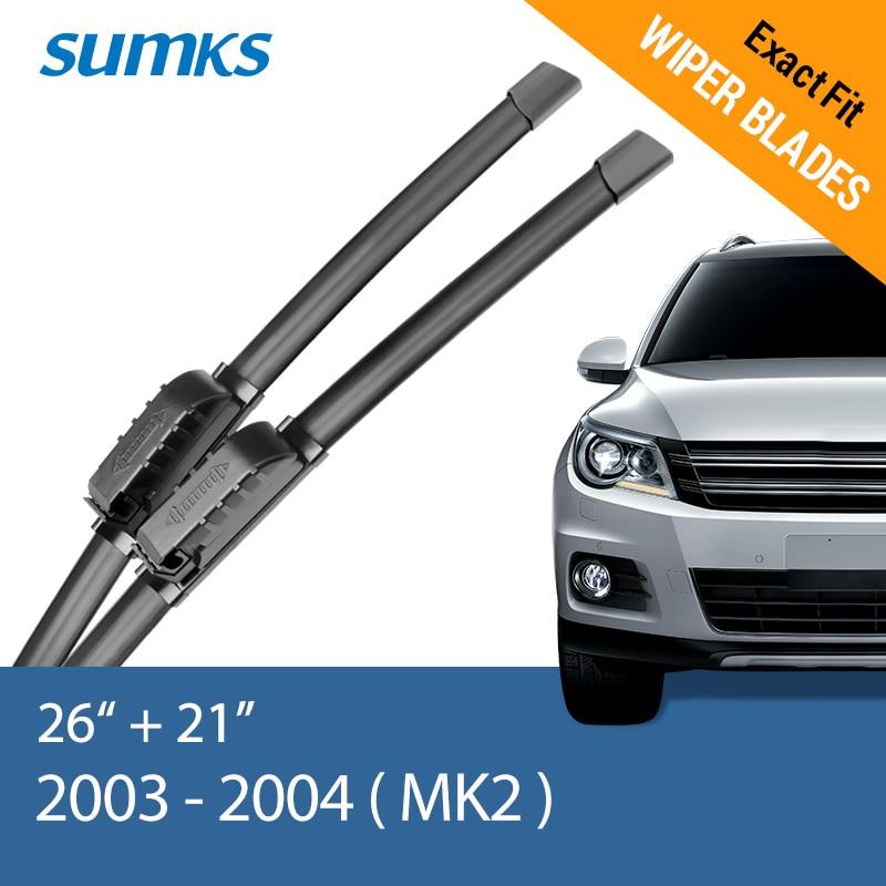 Sumks стеклоочистителей для Renault Scenic II III 2003 2004 2005 2006 2007 2008 2009 2010 2011 2012 2013 - Цвет: 2003 - 2004 ( II )