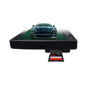 Image 2 - Full HD Mini 1024*600 7 inç CCTV ev güvenlik 1080P AHD 2 bölünmüş ekran IPS monitör DVR araba gözetim IPS ekran kaydedici