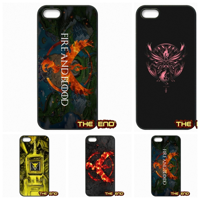 Pokemon Team Mystic Wallpaper Phone Case Covers For Iphone X 4 4s 5