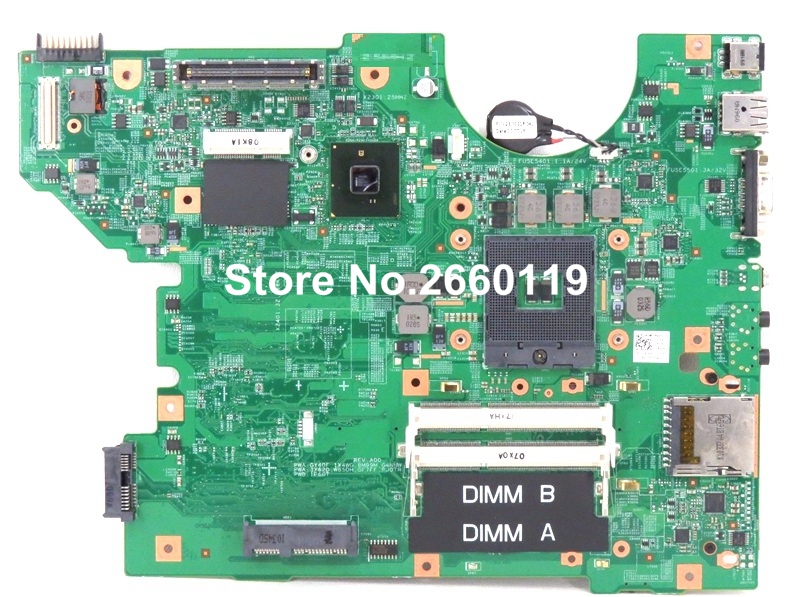 ФОТО 100% Working Laptop Motherboard For Dell E5510 CN-01X4WG 1X4WG System Board fully tested and cheap shipping